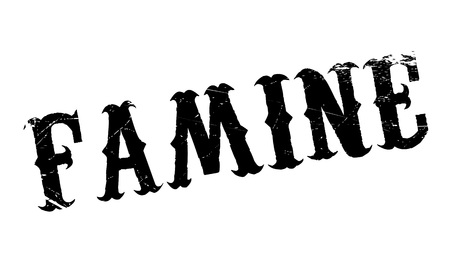 starving: Famine rubber stamp. Grunge design with dust scratches. Effects can be easily removed for a clean, crisp look. Color is easily changed.