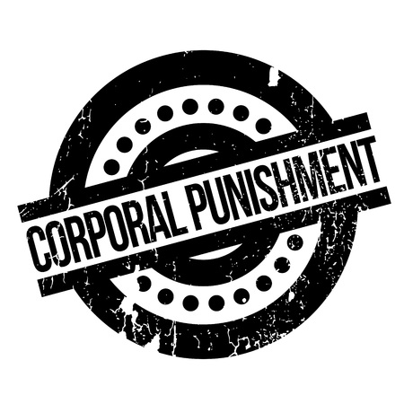 retribution: Corporal Punishment rubber stamp. Grunge design with dust scratches. Effects can be easily removed for a clean, crisp look. Color is easily changed.