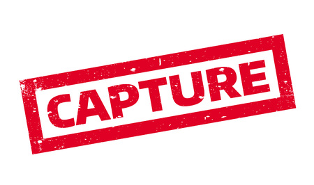 apprehended: Capture rubber stamp. Grunge design with dust scratches. Effects can be easily removed for a clean, crisp look. Color is easily changed. Illustration