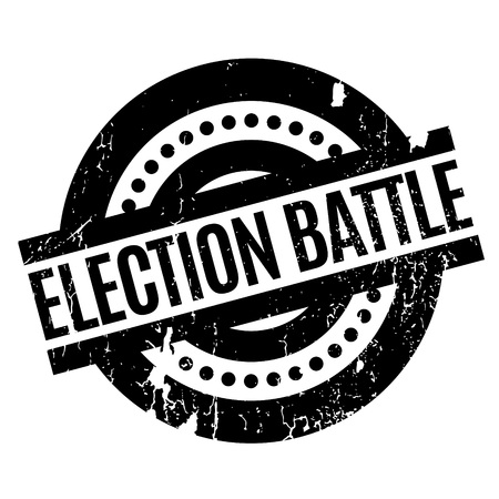 mayoral: Election Battle rubber stamp. Grunge design with dust scratches. Effects can be easily removed for a clean, crisp look. Color is easily changed.