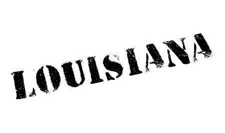 jefferson: Louisiana rubber stamp. Grunge design with dust scratches.