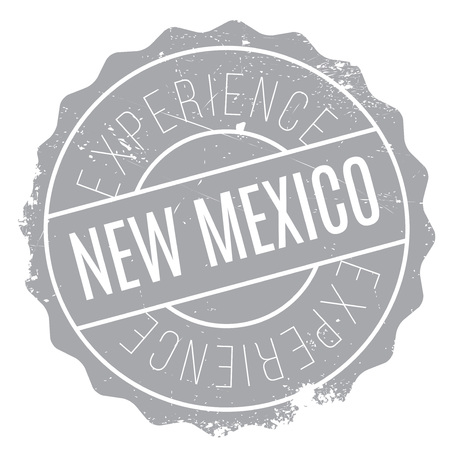 New Mexico rubber stamp. Grunge design with dust scratches. Effects can be easily removed for a clean, crisp look. Color is easily changed.