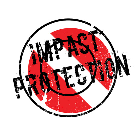 aegis: Impact Protection rubber stamp. Grunge design with dust scratches. Effects can be easily removed for a clean, crisp look. Color is easily changed.