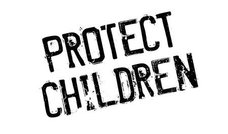Protegge il timbro di gomma dei bambini. Grunge con graffi di polvere. Gli effetti possono essere facilmente rimossi per un aspetto pulito e nitido. Il colore è facilmente modificabile.