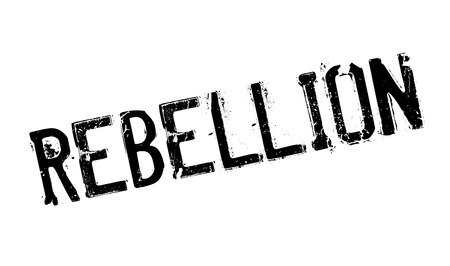 uprising: Rebellion rubber stamp. Grunge design with dust scratches. Effects can be easily removed for a clean, crisp look. Color is easily changed.