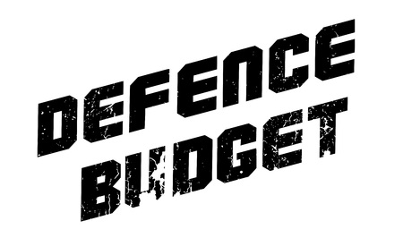 deterent: Defence Budget rubber stamp. Grunge design with dust scratches. Effects can be easily removed for a clean, crisp look. Color is easily changed.