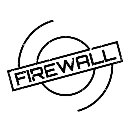 http: Firewall rubber stamp. Grunge design with dust scratches. Effects can be easily removed for a clean, crisp look. Color is easily changed.