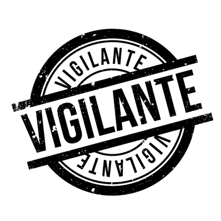 warden: Vigilante rubber stamp. Grunge design with dust scratches. Effects can be easily removed for a clean, crisp look. Color is easily changed.