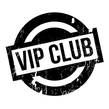 luminary: Vip Club rubber stamp. Grunge design with dust scratches. Effects can be easily removed for a clean, crisp look. Color is easily changed.
