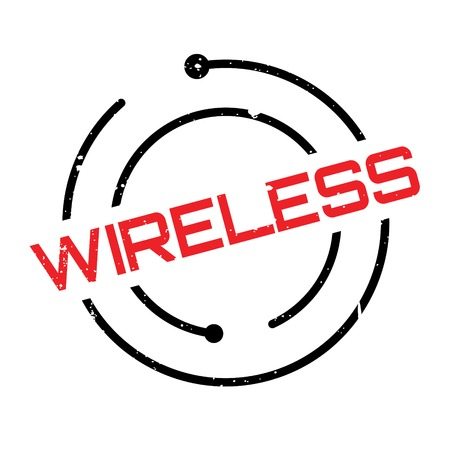 Wireless rubber stamp. Grunge design with dust scratches. Effects can be easily removed for a clean, crisp look. Color is easily changed.