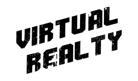roleplaying: Virtual Realty rubber stamp. Grunge design with dust scratches. Effects can be easily removed for a clean, crisp look. Color is easily changed.