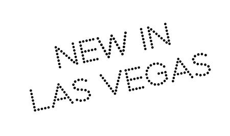 siegel: New In Las Vegas rubber stamp. Grunge design with dust scratches. Effects can be easily removed for a clean, crisp look. Color is easily changed.