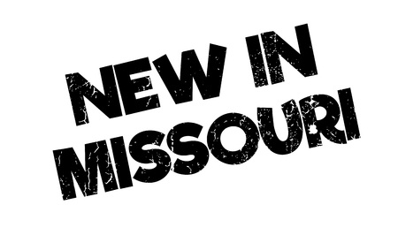 jefferson: New In Missouri rubber stamp. Grunge design with dust scratches. Effects can be easily removed for a clean, crisp look. Color is easily changed.