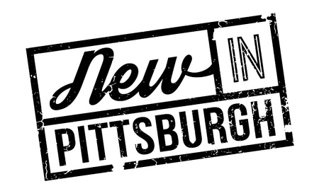 dodger: New In Pittsburgh rubber stamp. Grunge design with dust scratches. Effects can be easily removed for a clean, crisp look. Color is easily changed.