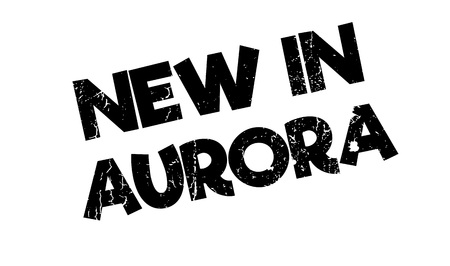 browning: New In Aurora rubber stamp. Grunge design with dust scratches. Effects can be easily removed for a clean, crisp look. Color is easily changed.