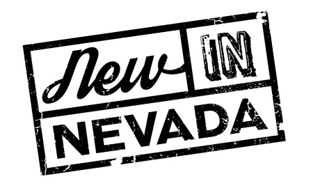 brothel: New In Nevada rubber stamp. Grunge design with dust scratches. Effects can be easily removed for a clean, crisp look. Color is easily changed.