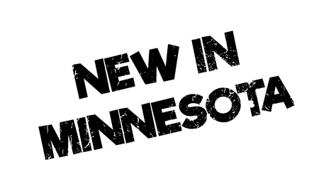 lac: New In Minnesota rubber stamp. Grunge design with dust scratches. Effects can be easily removed for a clean, crisp look. Color is easily changed.