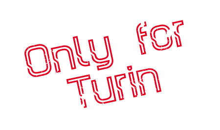 Only For Turin rubber stamp. Grunge design with dust scratches. Effects can be easily removed for a clean, crisp look. Color is easily changed.