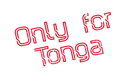 Only For Tonga rubber stamp. Grunge design with dust scratches. Effects can be easily removed for a clean, crisp look. Color is easily changed. Stock fotó