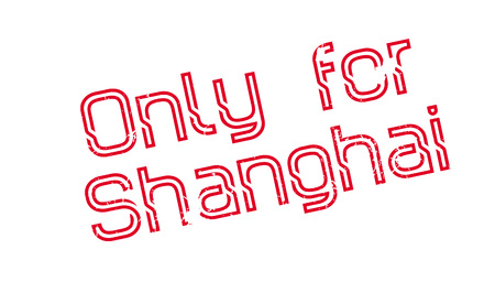 Only For Shanghai rubber stamp. Grunge design with dust scratches. Effects can be easily removed for a clean, crisp look. Color is easily changed.