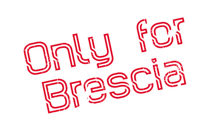 Only For Brescia rubber stamp. Grunge design with dust scratches. Effects can be easily removed for a clean, crisp look. Color is easily changed.