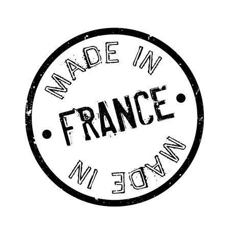 Made In France 도장 일러스트
