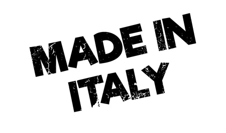 made manufacture manufactured: Made In Italy rubber stamp