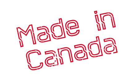 Made In Canada rubber stamp Ilustrace