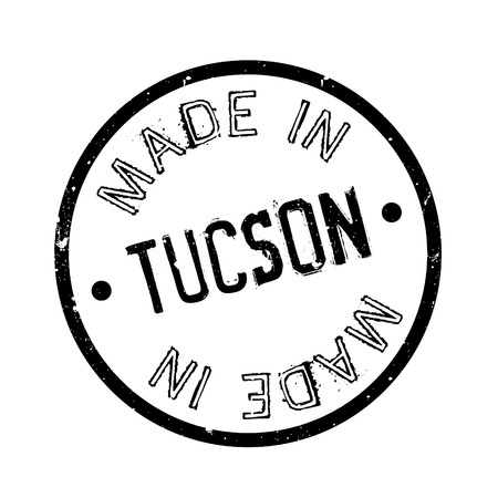 Made In Tucson rubber stamp Иллюстрация