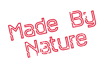 disposition: Made By Nature rubber stamp