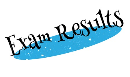 uni: Exam Results rubber stamp