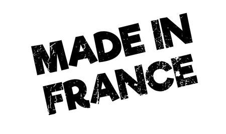 Made In France rubber stamp