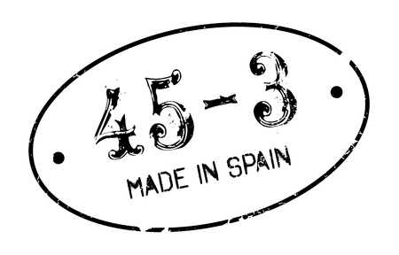 Made In Spain rubber stamp Illustration