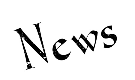 News rubber stamp