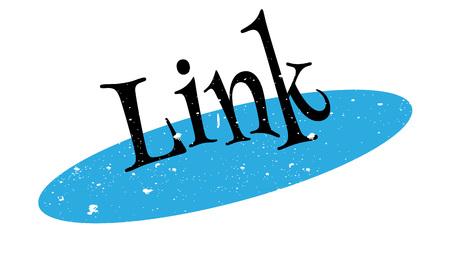 Link rubber stamp Illustration