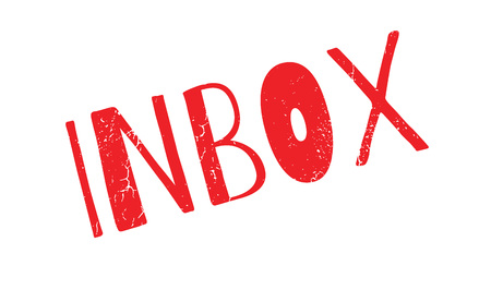 mailed: Inbox rubber stamp