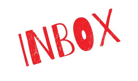 Inbox rubber stamp