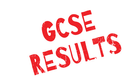 test results: Gcse Results rubber stamp