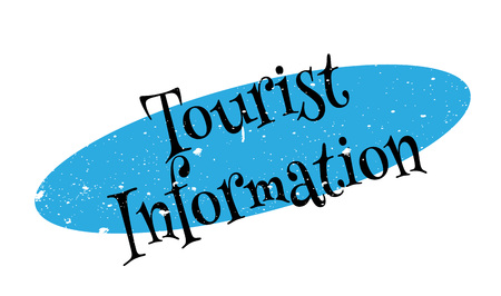 Tourist Information rubber stamp Illustration
