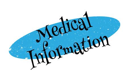 Medical Information rubber stamp