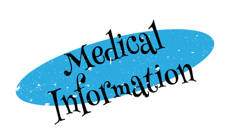 Medical Information rubber stamp