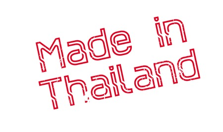 Made In Thailand rubber stamp Illustration