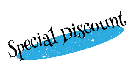 Special Discount rubber stamp Stock Photo