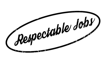 reputed: Respectable Jobs rubber stamp