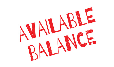Available Balance rubber stamp. Grunge design with dust scratches. Effects can be easily removed for a clean, crisp look. Color is easily changed.