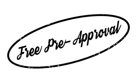 endorsement: Free Pre-Approval rubber stamp. Grunge design with dust scratches. Effects can be easily removed for a clean, crisp look. Color is easily changed.
