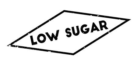 salt free: Low Sugar rubber stamp Illustration
