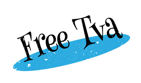Free Tva rubber stamp Illustration