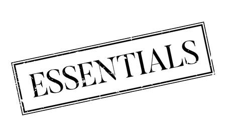 Essentials Stempel Standard-Bild - 75624705