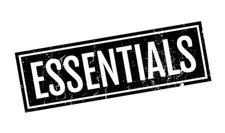 Essentials Stempel Standard-Bild - 75624725
